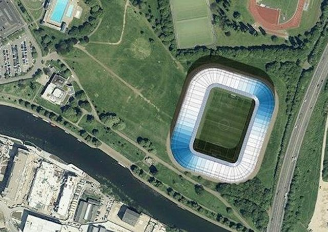 Peterborough United's new stadium on the Embankment will open in 2023.