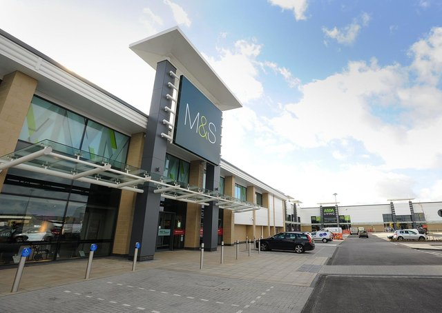 The Marks and Spencer store at Brotherhood Retail Park. ENGEMN00120121016162836
