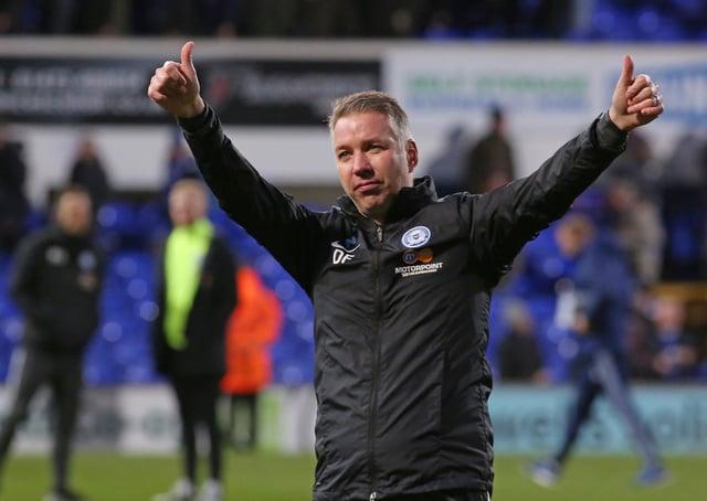 Posh boss Darren Ferguson.