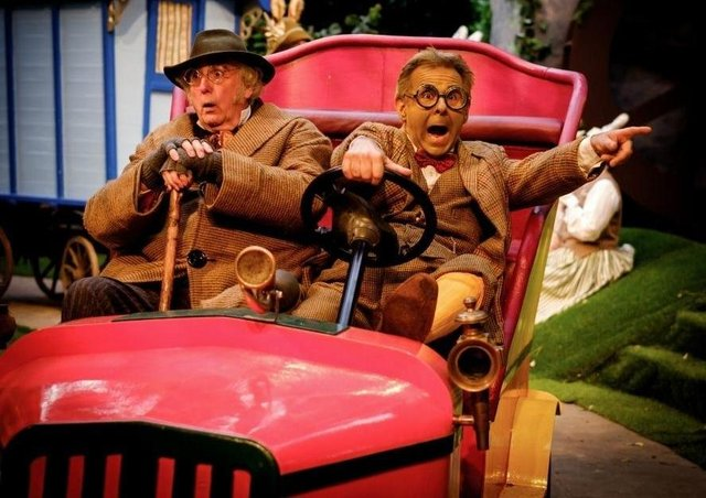 Cars and stall holders will be welcomed to Tolethorpe Hall as Stamford Shakespeare Company launches its urgent fundraising appeal. A scene here from The Wind in the Willows (2016). EMN-201109-122032001