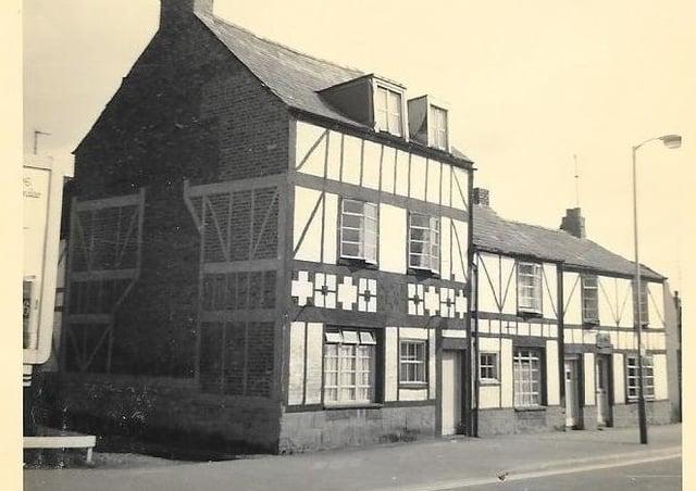 Little John's Cafe , St John's Street where the garage is now