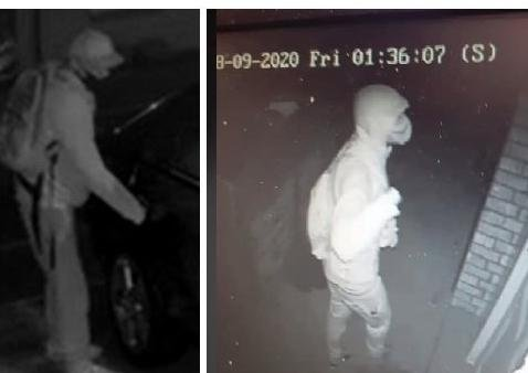 Police have released CCTV images of the man they want to trace