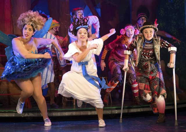 Peterborough is underfunded by Arts Council project grants according to latest figures. A scene from the touring theatre show Peter Pan Goes Wrong. Photo by Alastair Muir. SUS-200122-140026003