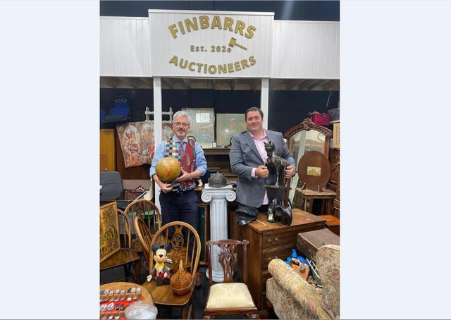 Rory and David Pamler at Finbarrs Auctioneers