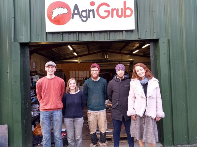 Some of the team at AgriGrub.
