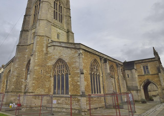 St John's Church, Cathedral Square.
