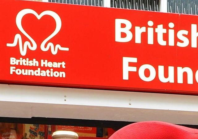 The British Heart Foundation in Peterborough. ENGANL00120131227101118