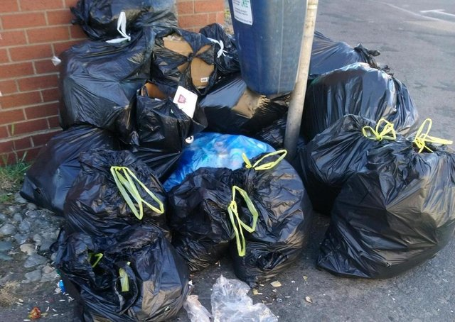 File picture of fly-tipping