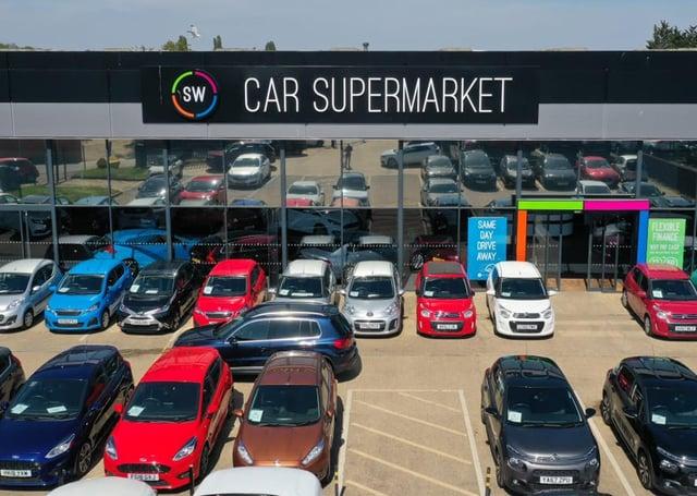 SW Car Supermarket in Peterborough.