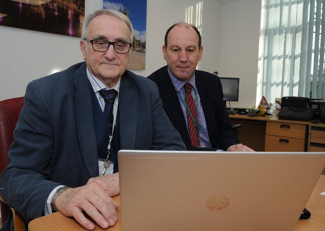 Peterborough City Council  Leader  John  Holdich and Corporate Director for Resources Peter Carpenter were at the forefront of drawing up the city council's budget plans.
