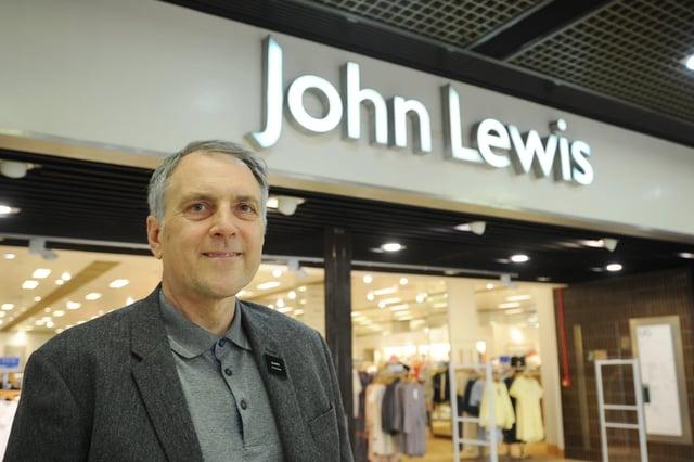 Gary Roundtree, head of branch at John Lewis Peterborough. EMN-190521-125215009