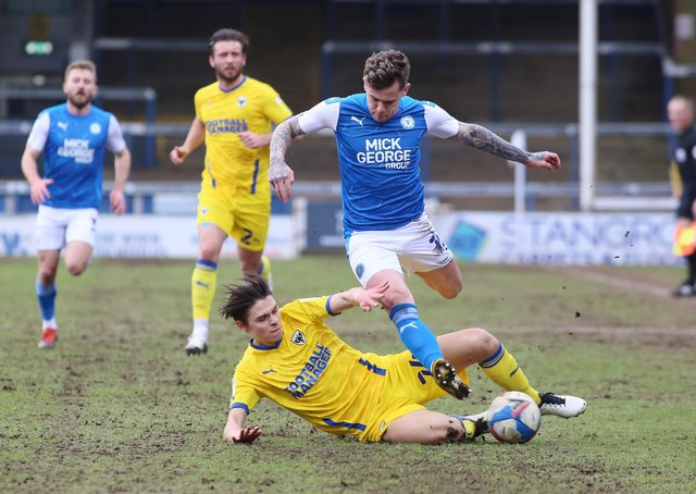 Sammie Szmodics should be back for Posh v Cobblers on Friday evening.