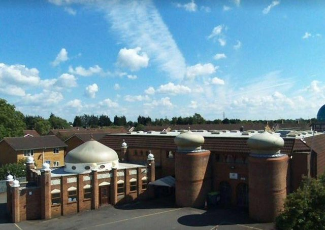 The Husaini Islamic Centre in Burton Street, Peterborough.
