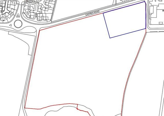 The location of the proposed development