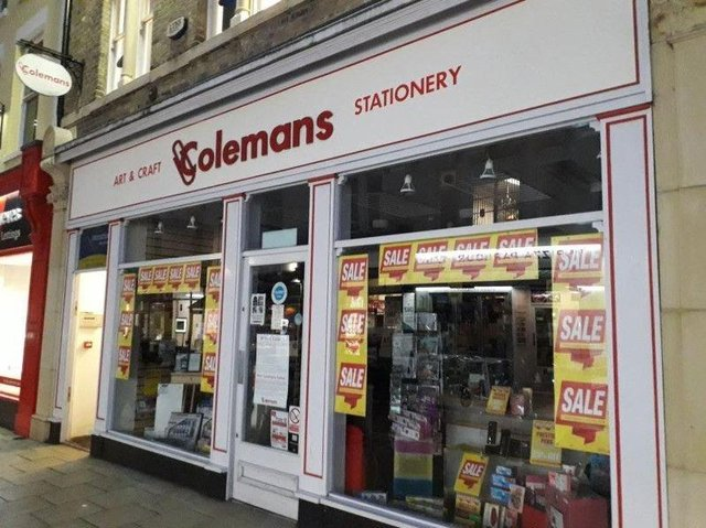 The former Colemans store in Cowgate