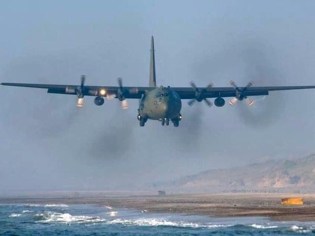 An RAF Hercules