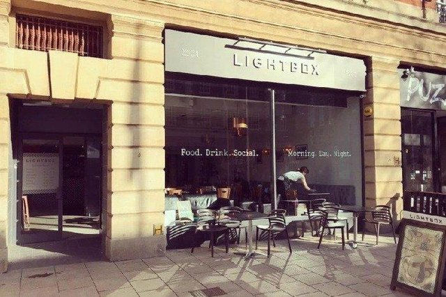 A new pod is due to open outside the Lightbox Cafe