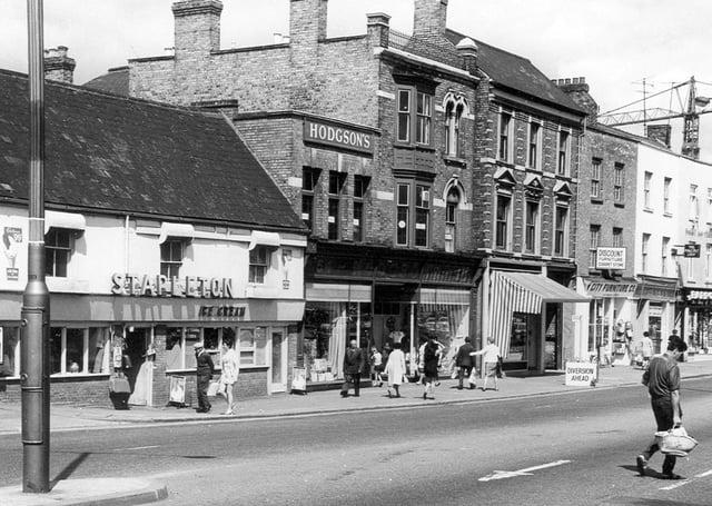 The popular Stapleton's ice cream shop in Bridge Street.