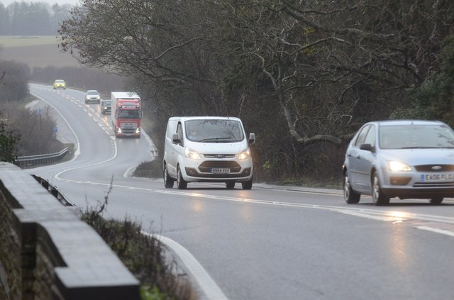 The A47 which is to be dualled between Wansford and Sutton. EMN-170116-162249009