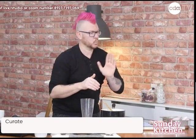 'Punk Chef' Scott Garthwaite on Sunday Kitchen Live