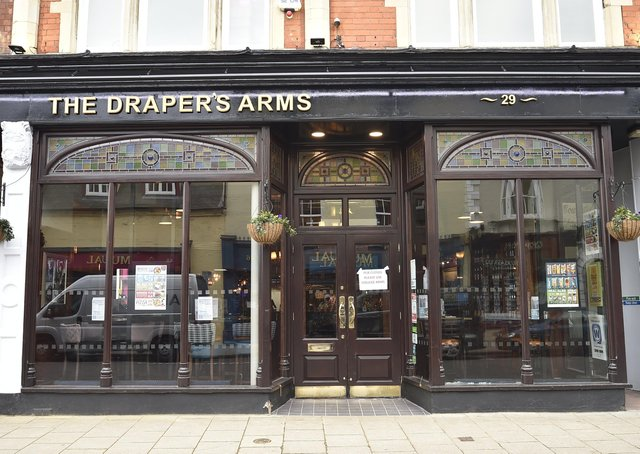 The Draper's Arms in Cowgate will reopen on April 12.