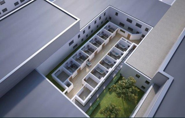 An artist's impression of the Urgent Treatment Centre when it opens by the city hospital