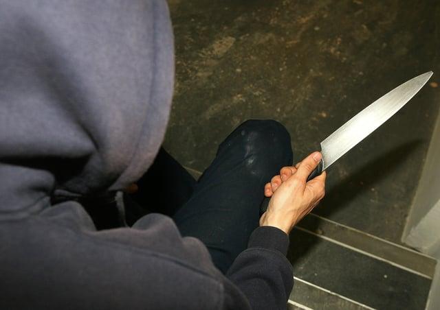 Knife crime. Photo: PA EMN-210503-161543001