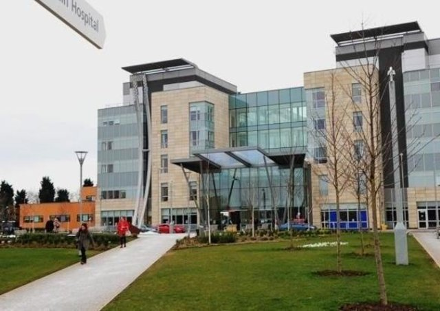 Peterborough City Hospital. EMN-210503-175156001