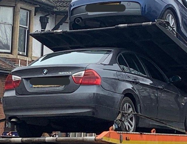 Vehicles seized in the Peterborough area. All photos: BCH Road Policing Unit