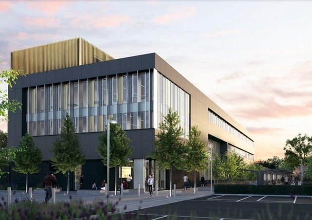 How the new research and development centre could look