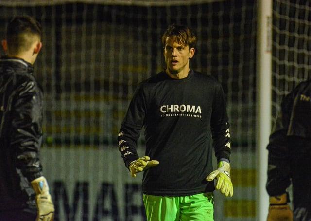 Luke Steele at Stamford AFC.