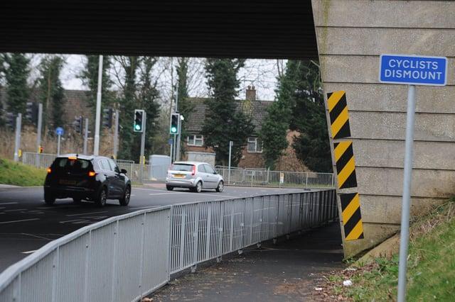 The hazard warning by Rhubarb Bridge EMN-210223-081616009