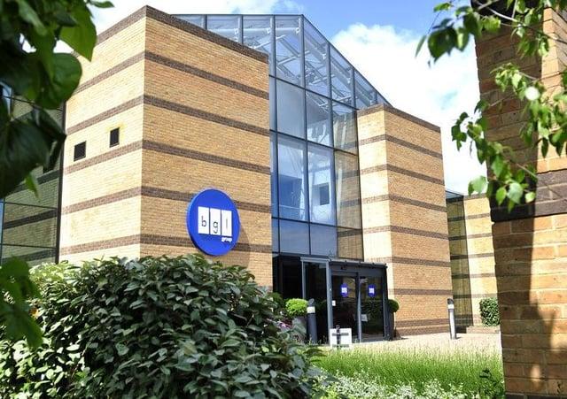 BGL's headquarters in Peterborough.