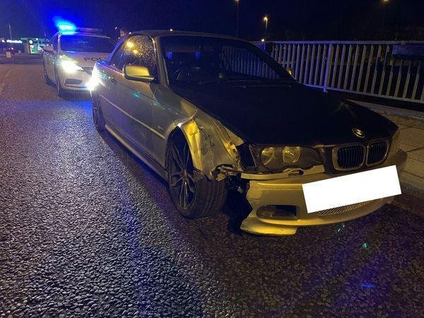 The seized BMW. Pic: Cambs police