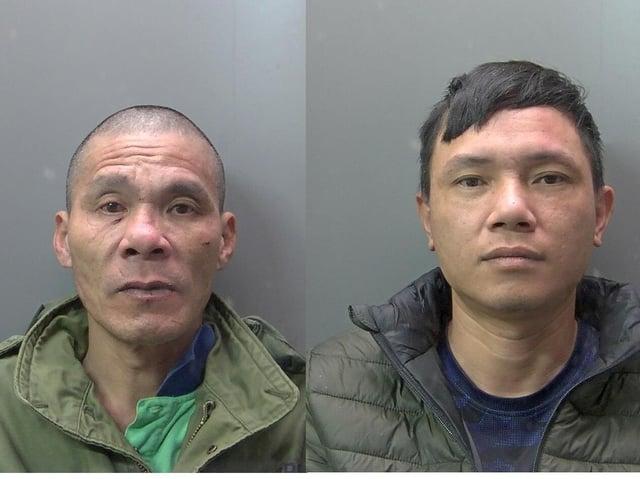 Tit (l) and Diem (r) Hoang