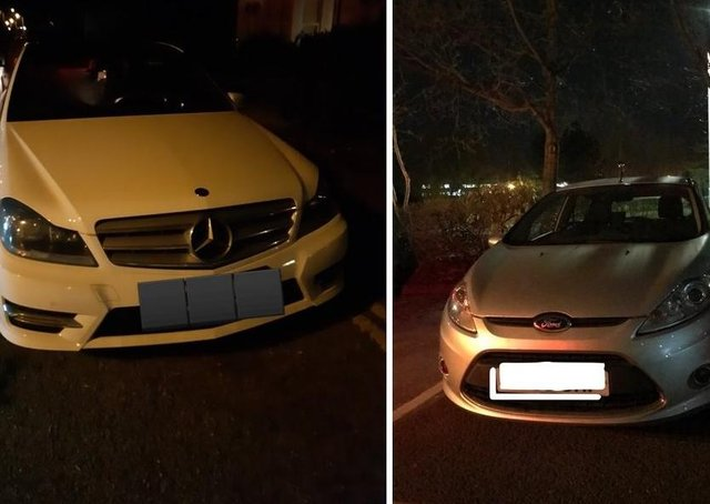 Vehicles seized in Peterborough. All photos: BCH Road Policing Unit