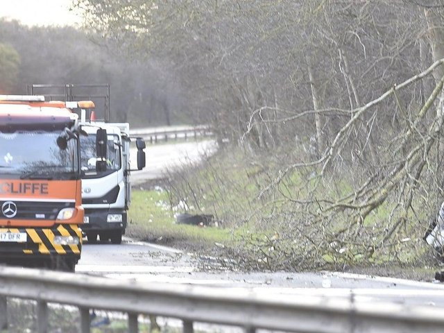 The crash happened yesterday - police are appealing for witnesses