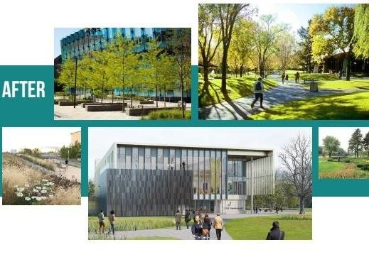 Plans have been revealed to 'enhance' the Embankment as part of the university project
