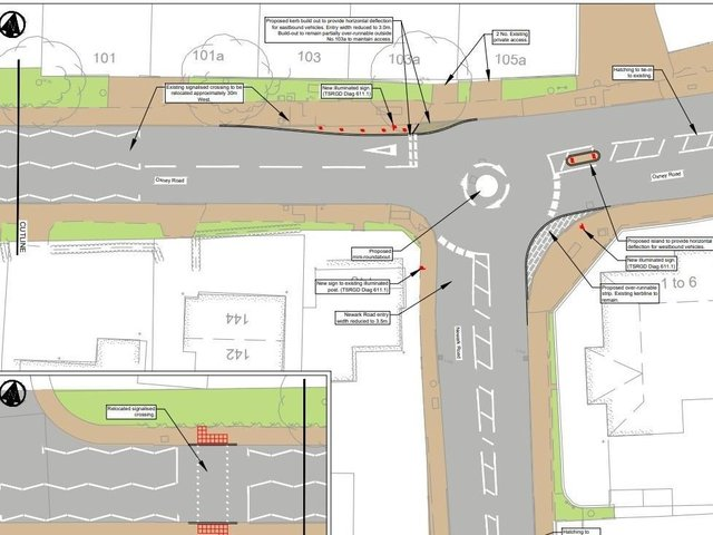 The proposals would see a series of alterations in the area