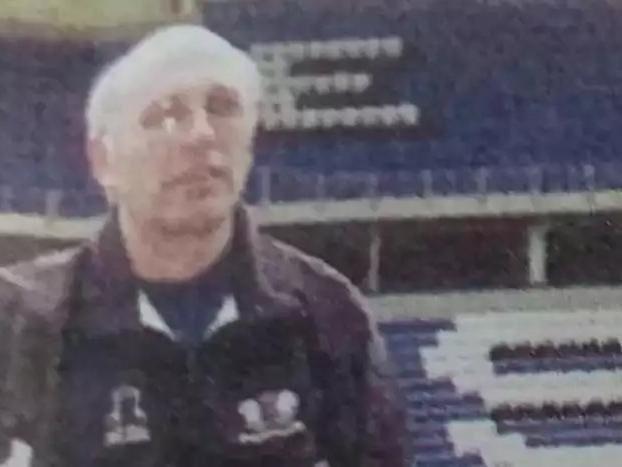 Bob Higgins during his Peterborough United days