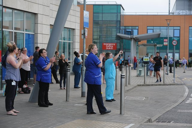 The support given to front line workers has been praised