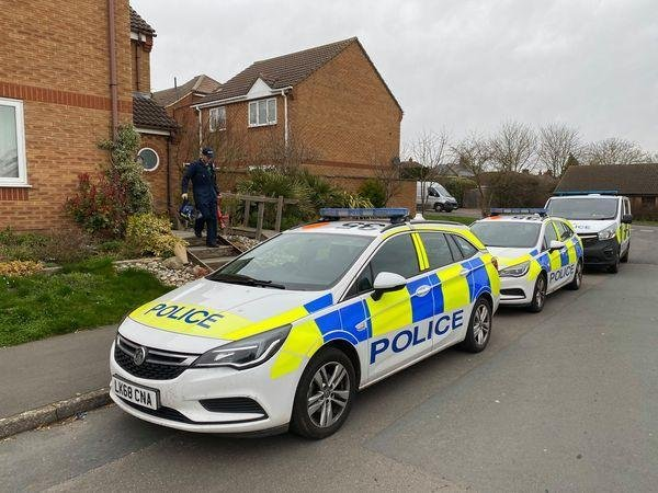 Officers raided the property on Wednesday