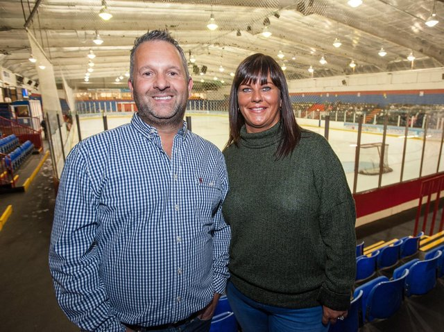 Dave and Jo Lane are to step down as owners of Peterborough Phantoms