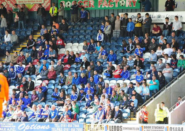 Posh fans have been able to watch one League One match at the Weston Homes Stadium this season, v Rochdale in Decembe.