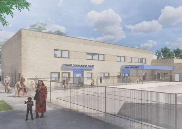 How the new Heltwate School building could look