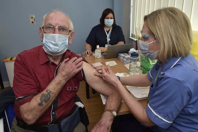 84,823 people in Peterborough have been given at least the first dose