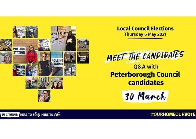 A hustings in Peterborough has been organised by the3milion