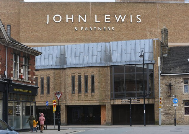 John Lewis is planning to close its Queensgate store