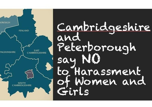 A 'harassment map' has been created by the Cambridgeshire and Peterborough says no to Harassment of Women and Girls Facebook group