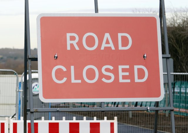 Road closures to look out for